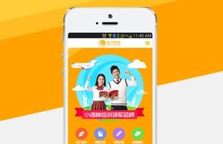 南宁金沛教育手机网站建设