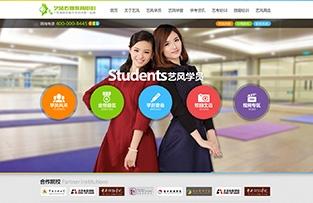 广州艺风传媒教育中心网站建设