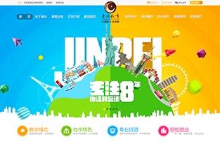 广西金沛教育品牌网站建设