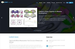 北京师范大学认知神经科学与学习国家重点实验室网站建设