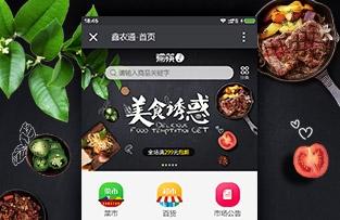 广西鑫农通商城网站建设