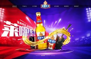 广西莱典酒业集团官网建设